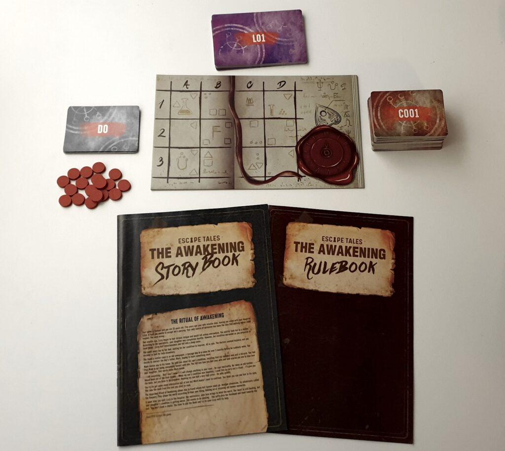 Escape Tales spilindhold